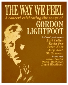 The Way We Feel - A Celebration of the Music of Gordon Lightfoot